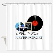 never-4 Shower Curtain