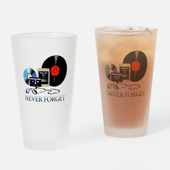 never-4 Drinking Glass