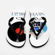 never-4 Flip Flops