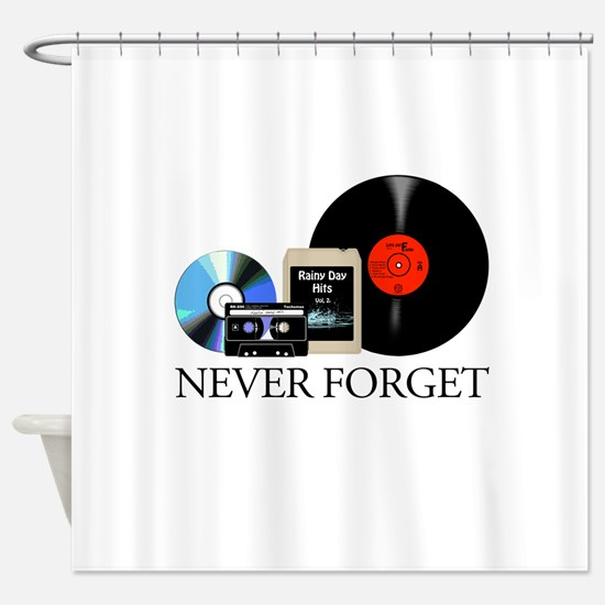 never-2 Shower Curtain