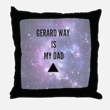 Gerard Way Throw Pillow