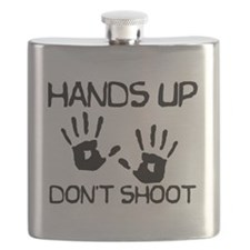 Hands Up palms Flask