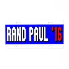 Rand Paul 2016 Aluminum License Plate