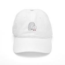 Fantail White Pigeon Baseball Cap