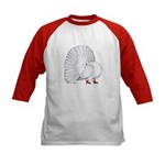 Fantail White Pigeon Baseball Jersey
