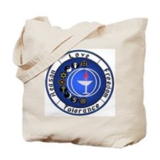 Circle Chalice Tote Bag