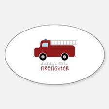 Daddys Little Firefighter Decal