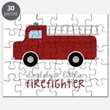 Daddys Little Firefighter Puzzle