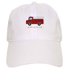 Little Red Fire Truck Baseball Baseball Cap
