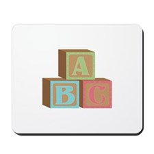 Baby Blocks Mousepad