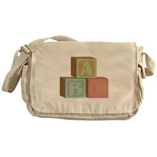 Baby Blocks Messenger Bag