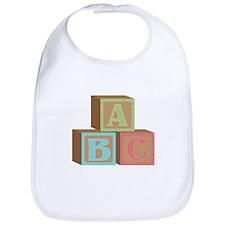 Baby Blocks Bib