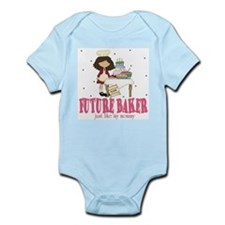Funny Baby chef Infant Bodysuit