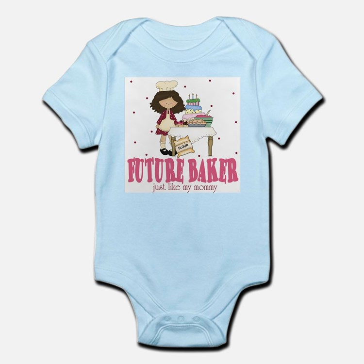 Cute Mommy chef Infant Bodysuit