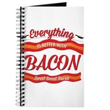 Cute Bacon meat candy Journal