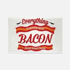 Everything is Better With Bacon Magnets