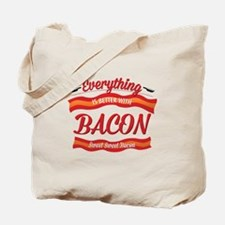 Cute Funny bacon Tote Bag
