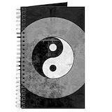 Yin yang Journals & Spiral Notebooks