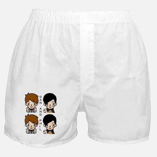 Dan and Phil Boxer Shorts