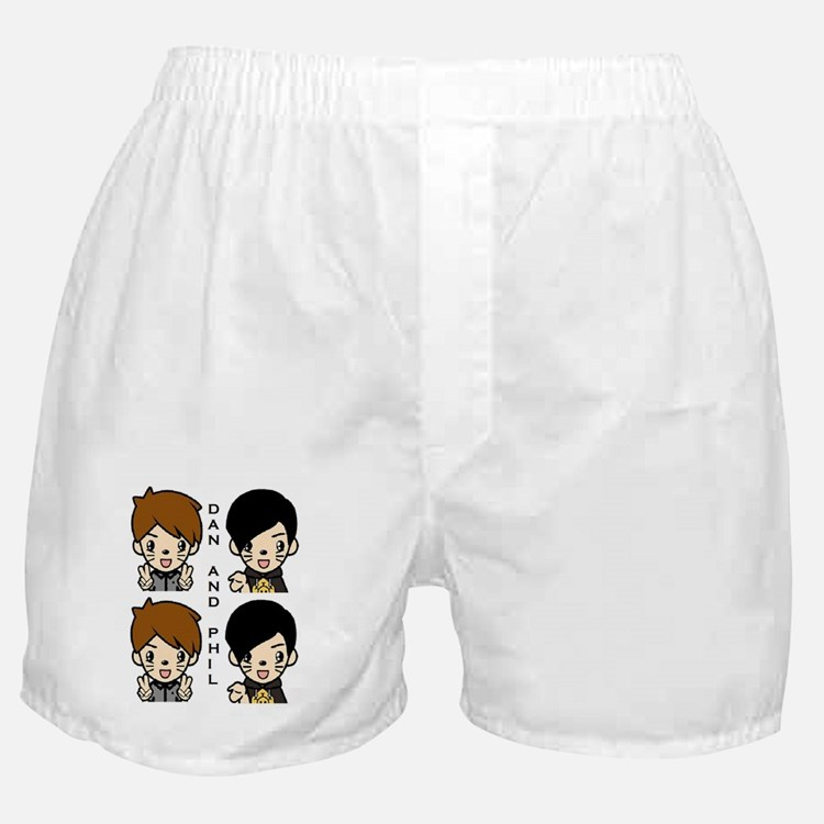 Dan and Phil Boxer Shorts