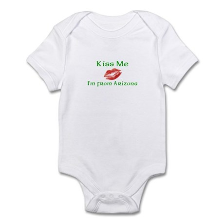 Kiss Me I'm from Arizona Infant Bodysuit
