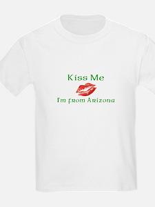Kiss Me I'm from Arizona T-Shirt