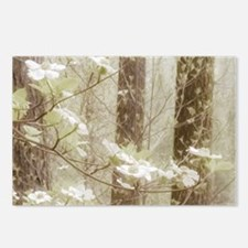 Unique Dogwood blossoms Postcards (Package of 8)