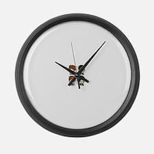 Cute Phil Large Wall Clock