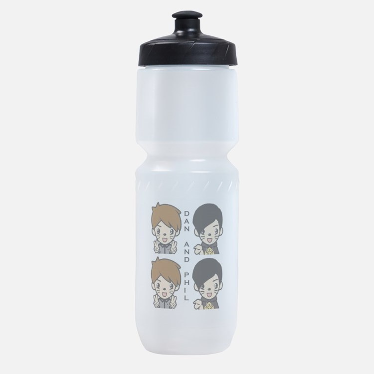 Cute Youtubers Sports Bottle