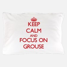 Funny Ruffed grouse Pillow Case