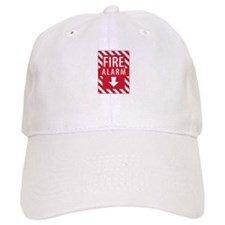 Fire Alarm Sign Baseball Baseball Cap