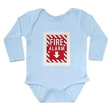 Fire Alarm Sign Body Suit