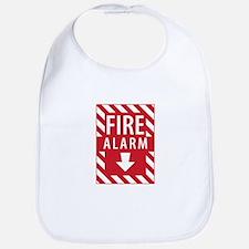 Fire Alarm Sign Bib