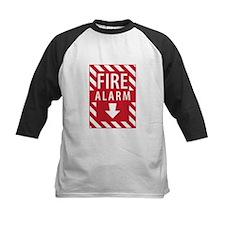 Fire Alarm Sign Baseball Jersey