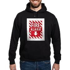 Fire Alarm Sign Hoodie