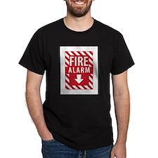 Fire Alarm Sign T-Shirt