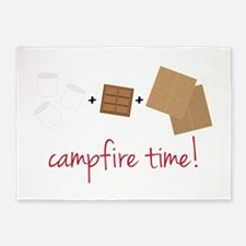Campfire Time 5'x7'Area Rug