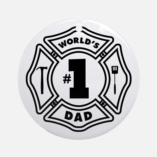 FD DAD Ornament (Round)
