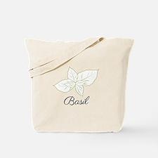 Basil Plant Tote Bag