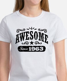 Awesome Since 1963 Women's T-Shirt