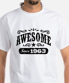 Awesome Since 1963 Shirt