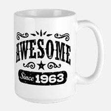 Awesome Since 1963 Mug