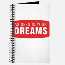 As seen in your dreams Journal
