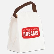 As seen in your dreams Canvas Lunch Bag
