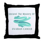 SUPPORT OVARIAN CANCER AWARENESS Throw Pillow