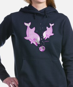 Cute Dolphins Women's Hooded Sweatshirt