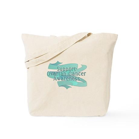 SUPPORT OVARIAN CANCER AWARENESS Tote Bag