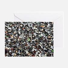 Sea Glass Beach Greeting Card
