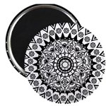 "Beautiful Mandala 2.25"" Magnet (10 pack)"