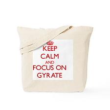 Funny Keep calm and twirl on Tote Bag
